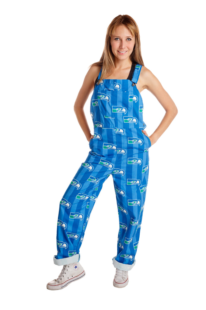 The Seattle Seahawks | Ladies Unisex NFL Overalls