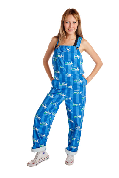 Seattle Seahawks Womens Overalls