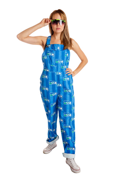 Ladies Seattle Seahawks Overalls