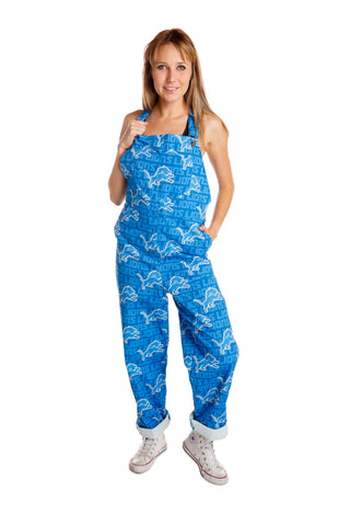Ladies Detroit Lions Overalls