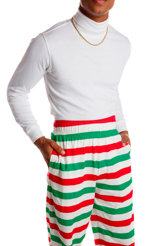 Holiday Striped MC Hammer Pants