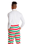 Christmas Striped Hammer Pants