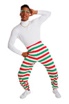 Christmas Striped MC Hammer Pants