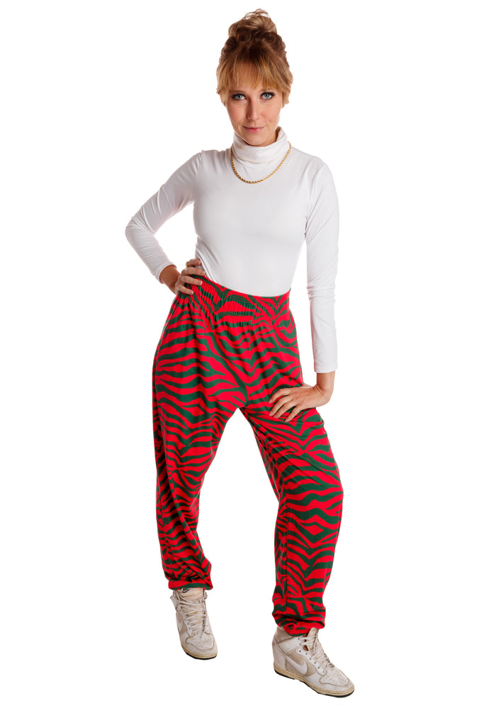 The Postmodern Pleasure Pants | Women's Christmas Striped Hammer Pants
