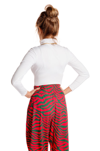 Christmas High Waisted Hammer Pants for Women
