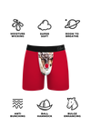 The Red Nose Rod | Red Reindeer Ball Hammock Pouch Underwear