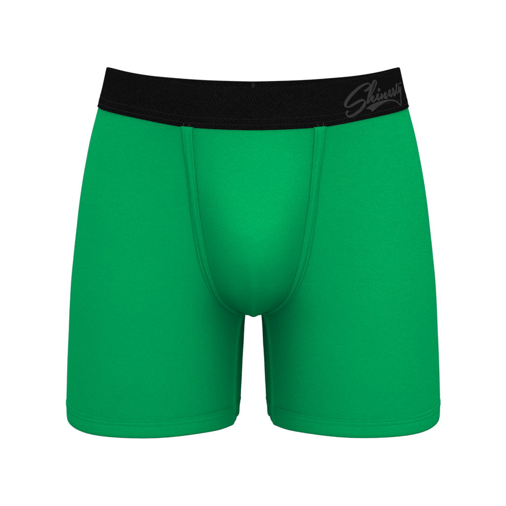 The Chernobyl | Bright Green St. Patrick's Day Boxer Briefs