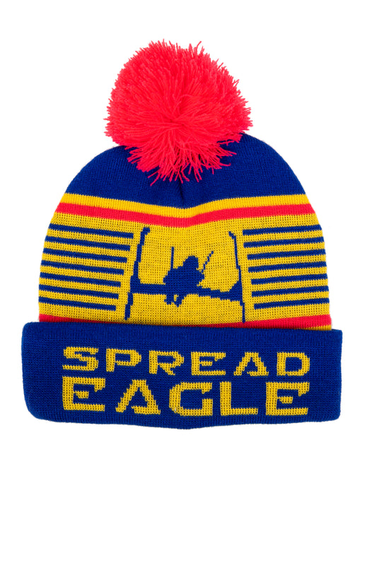 Ladies spread eagle retro ski beanie
