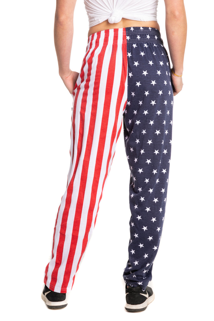 red white and blue hammer pants