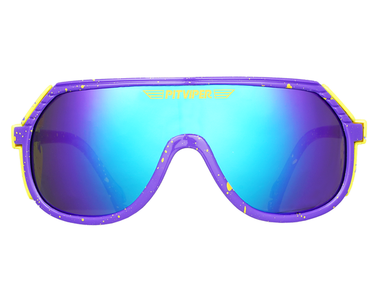 The Aerobis Grand Prix | Purple Pit Viper Sunglasses