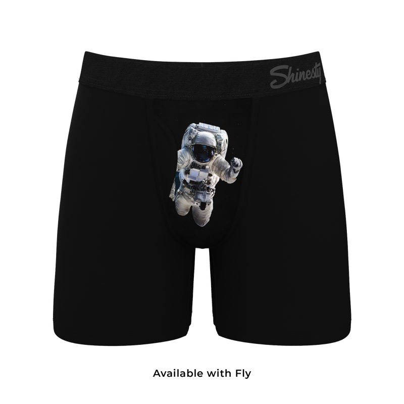 men's asstronut boxers with fly