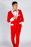 The Bad Santas | Red And White Santa Claus Suit