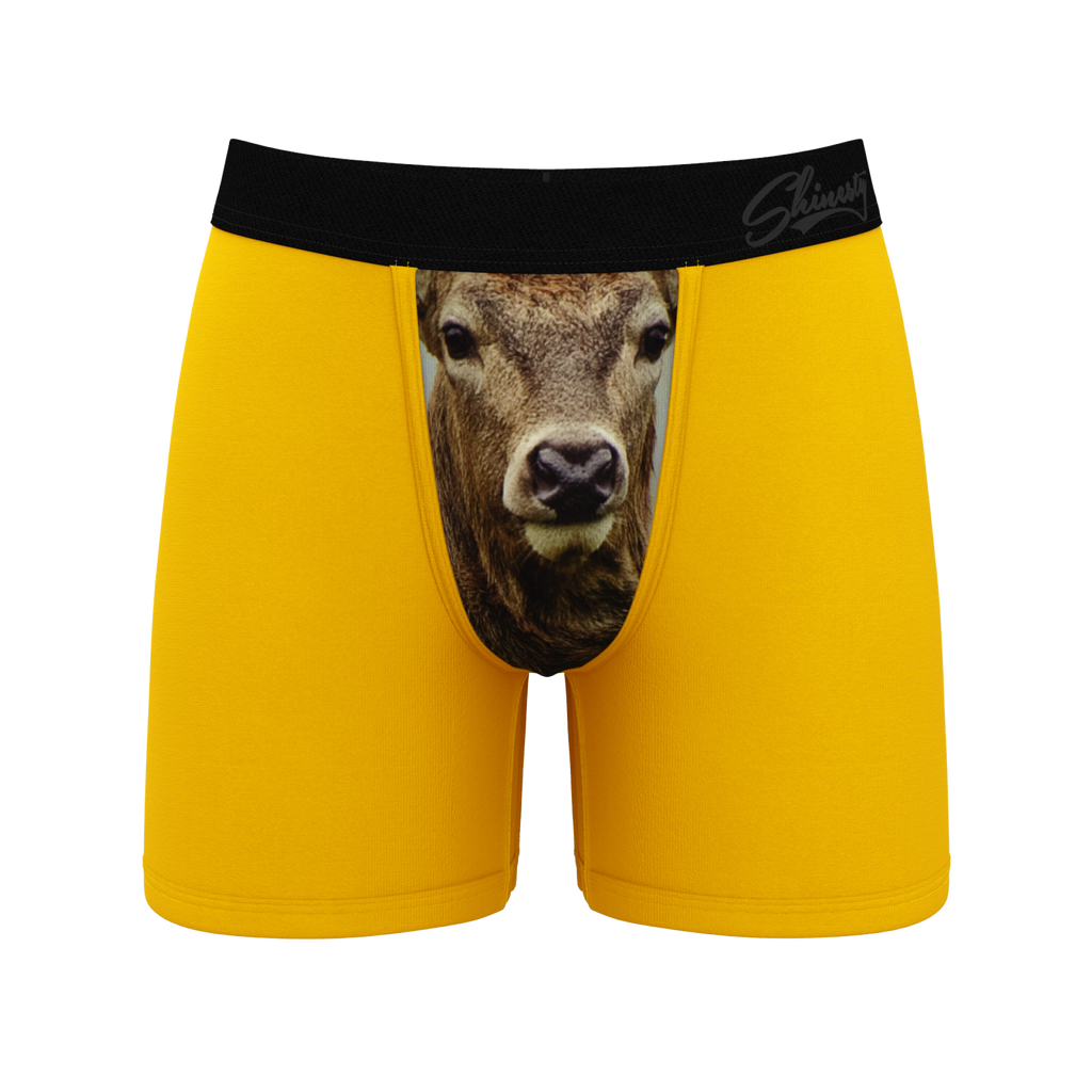 The Phallic Fury | Deer Ball Hammock Pouch Underwear