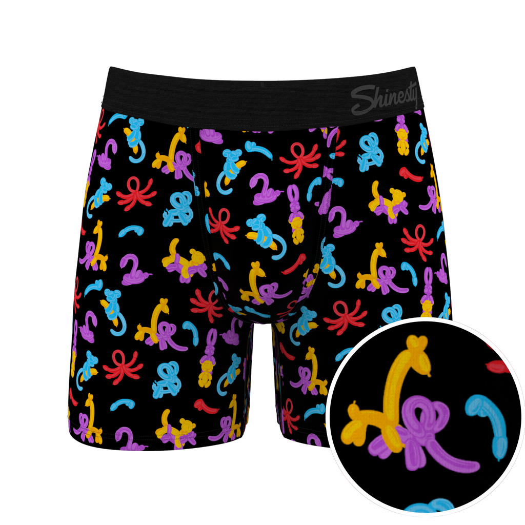 The Blow Me...Ups | Ball Hammock Balloon Animal Boxer Briefs