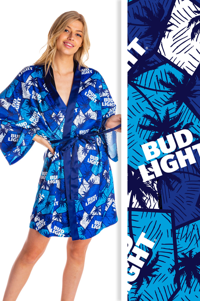 Queen of Beers | Ladies Unisex Bud Light Kimono