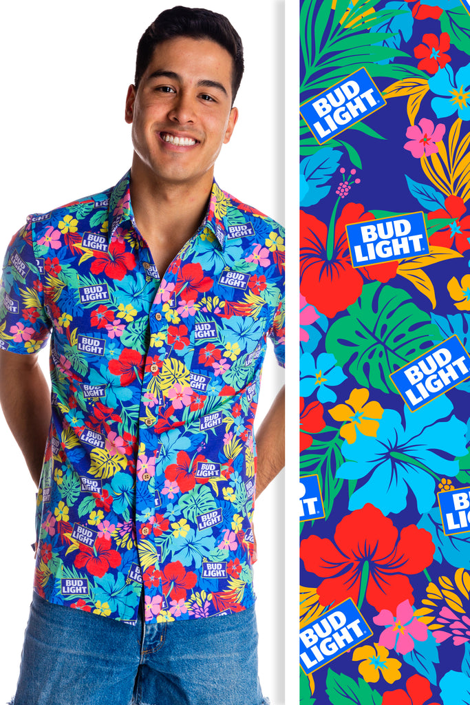 Take It Easy | Official Bud Light Hawaiian Shirt