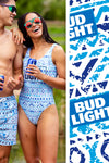 Bud Light One Piece Swimsuit