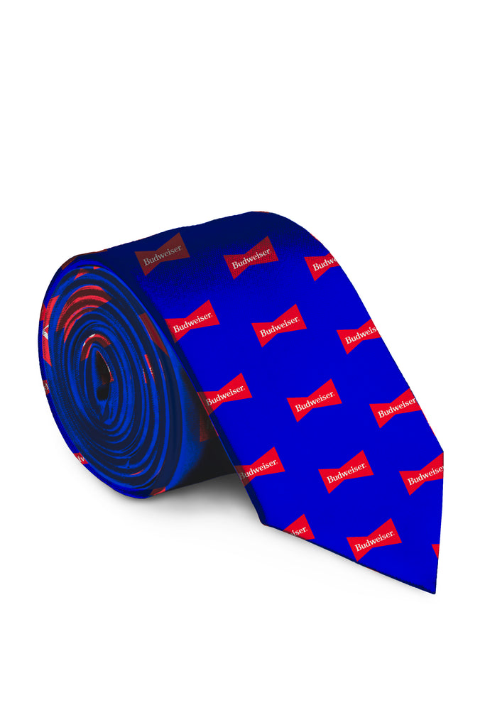 Cool, Smooth and Refreshing | USA Budweiser Tie