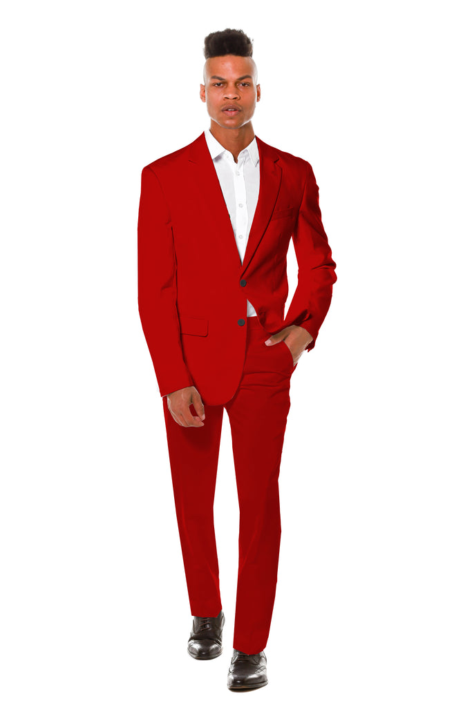 The Ron | Burgundy Party Suit