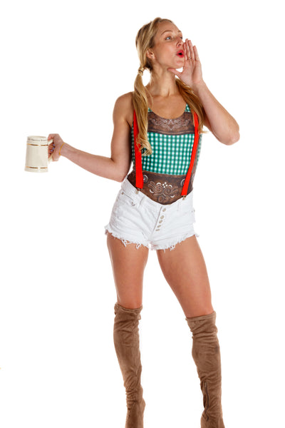 sexy lederhosen for women