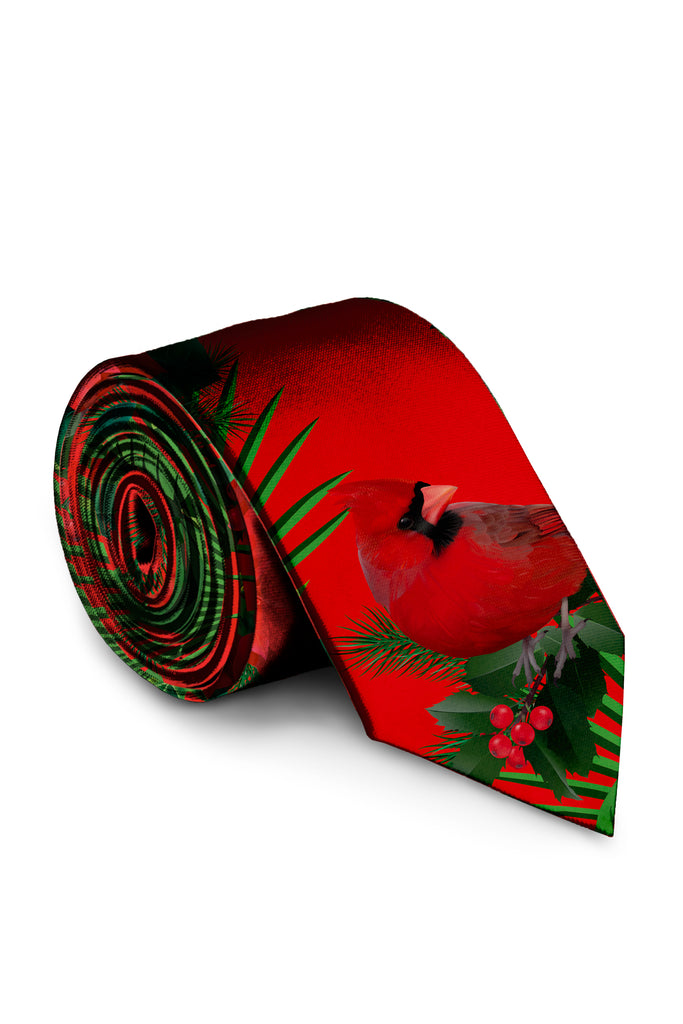 The Cardinal | Hawaiian Christmas Suit Tie