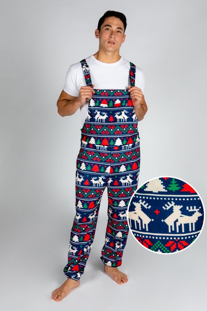The Caribou Lous | Mens Christmas Pajamaralls