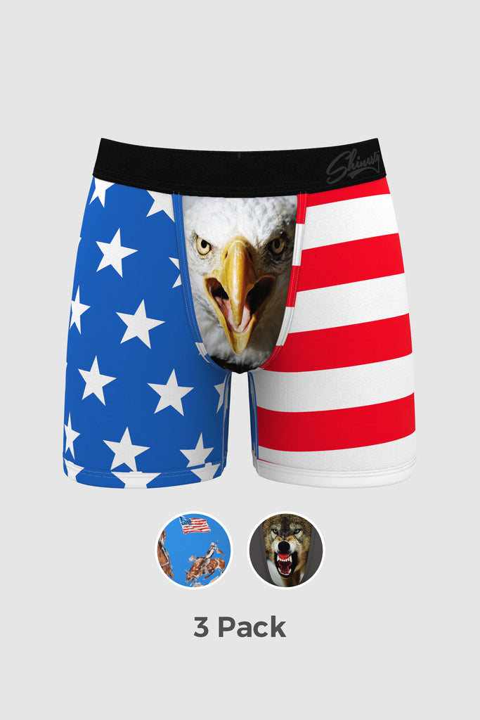 The Cattle Rustlers | Ball Hammock Boxer Brief 3 Pack