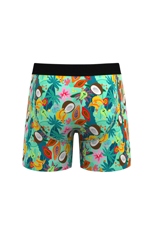 fruit salad printed boxer briefs