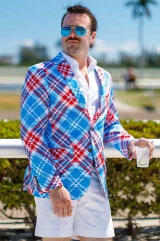 Kentucky derby blazer for men