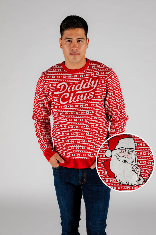 The Daddy Claus | Santa Ugly Christmas Sweater