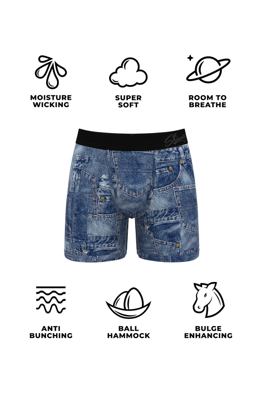 Men's denim underwear
