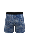 Men's boxer brief denim jeans