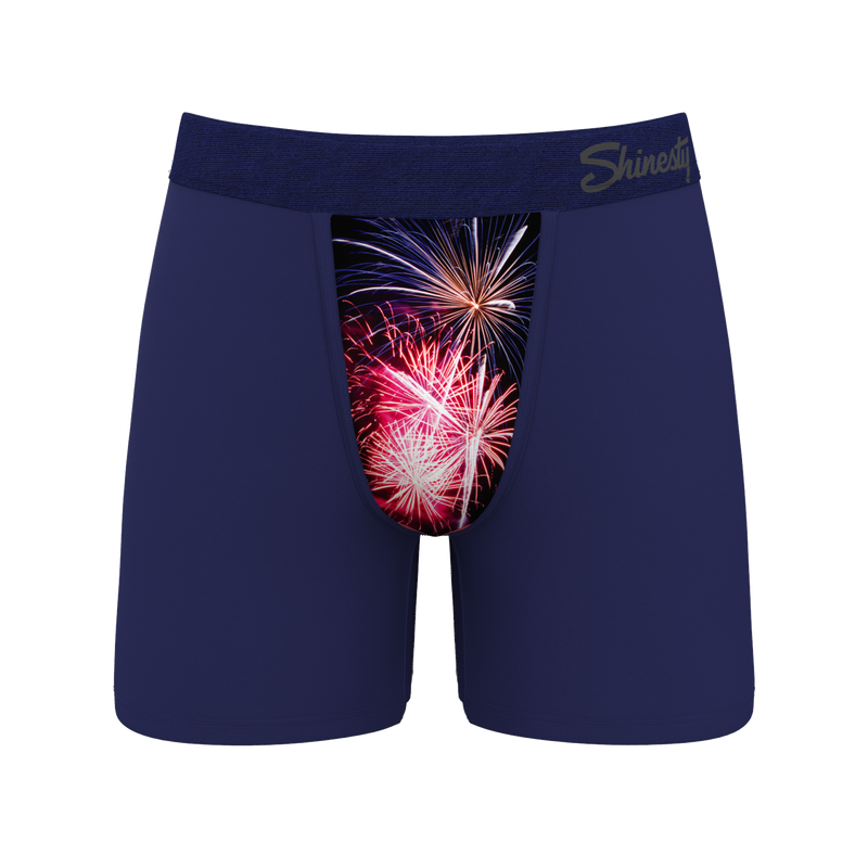 Men's USA Firework Ball Hammock Boxers
