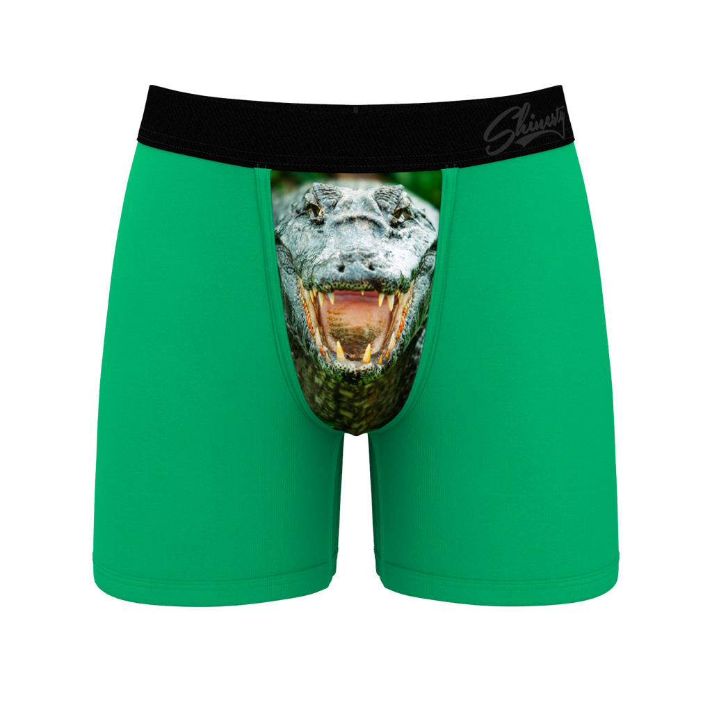 The Croc-O-Dong | Men's Gator Ball Hammock Boxer Briefs