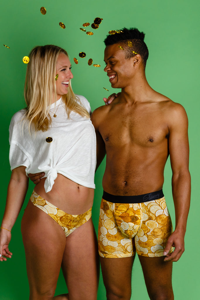 Under The Rainbow | St Paddy's Day Ball Hammock Boxer and Thong Pack