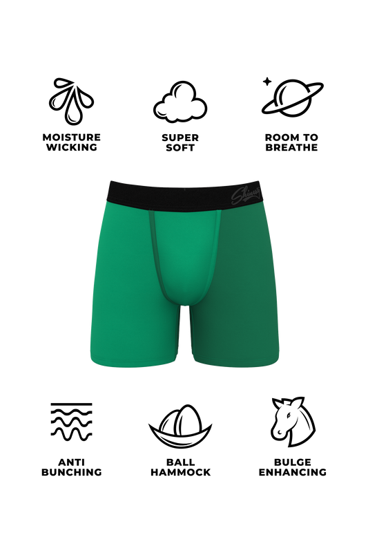 Moisture wicking boxers for guys