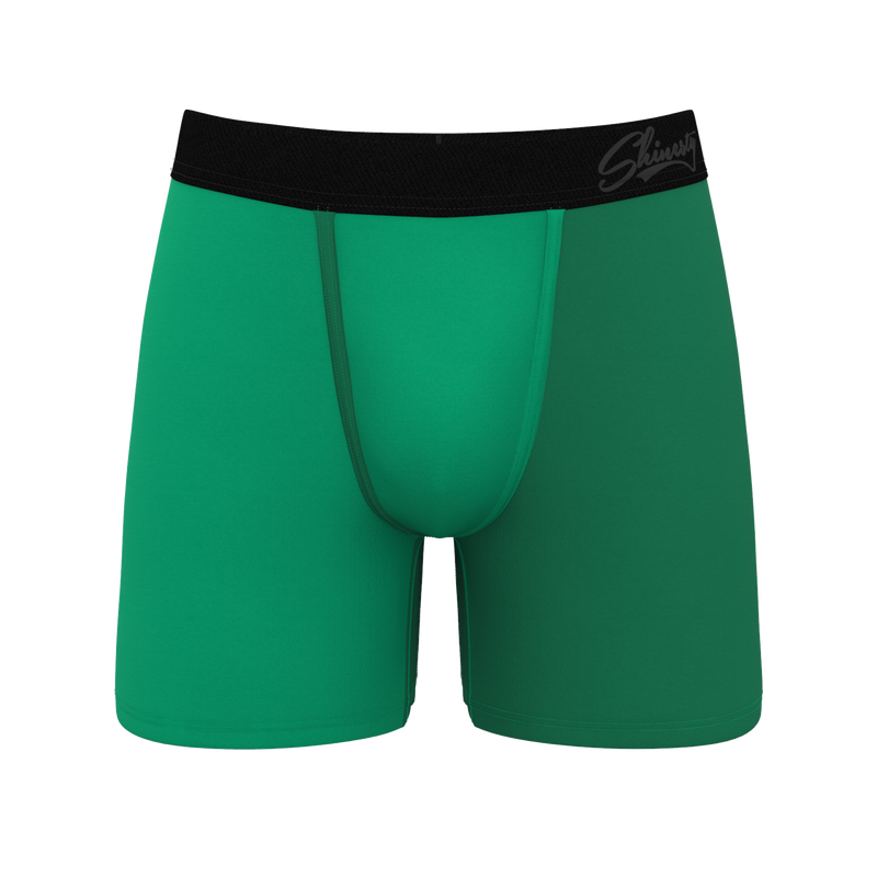 Don't pinch me green ball hammock boxers