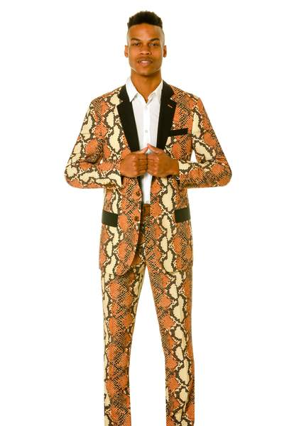 The Rattlers | Snakeskin Party Pants