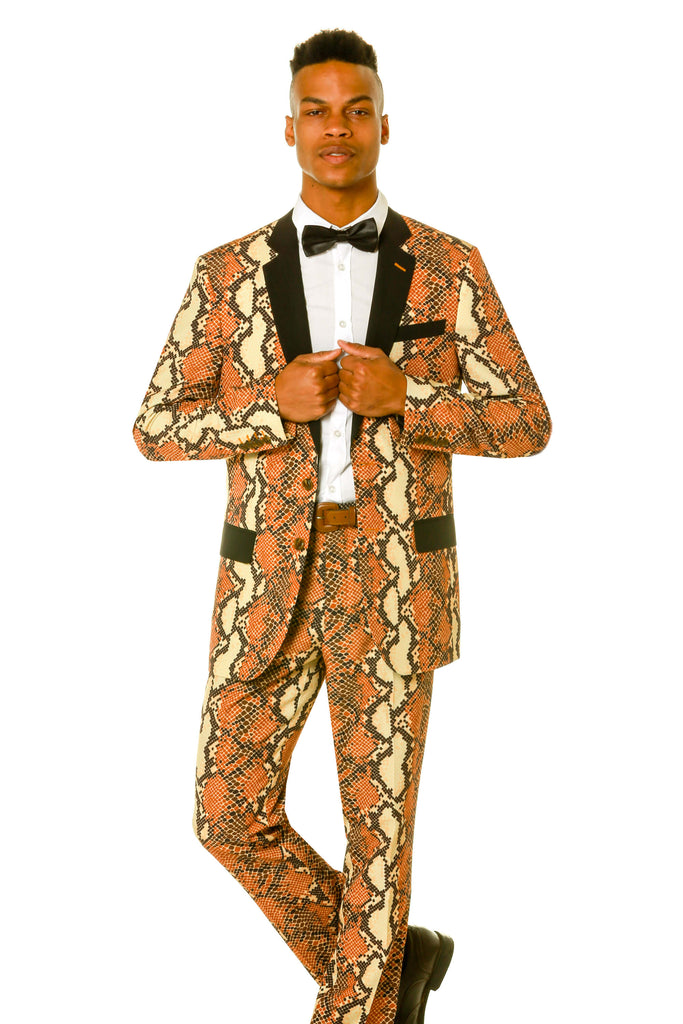 Rattlesnake Pattern Party Suit