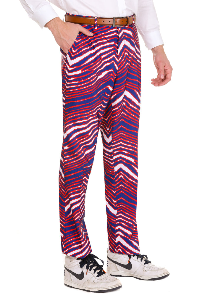 The American Zuba | Zebra Pants