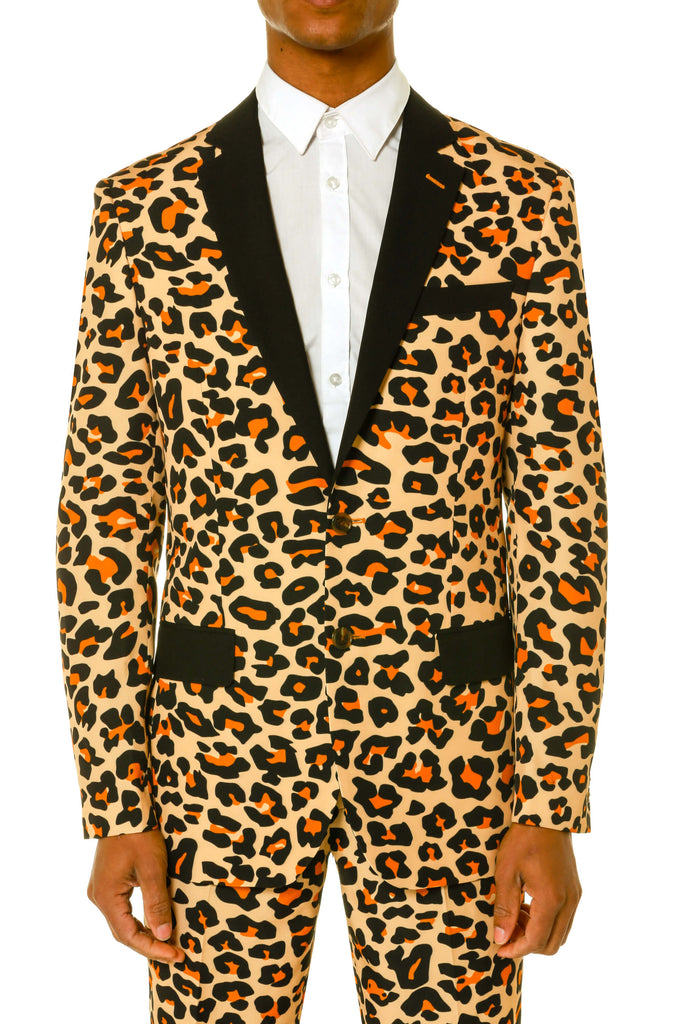 men s leopard print dress suit. Men s leopard blazer and pants by shinesty 87a5a45c7