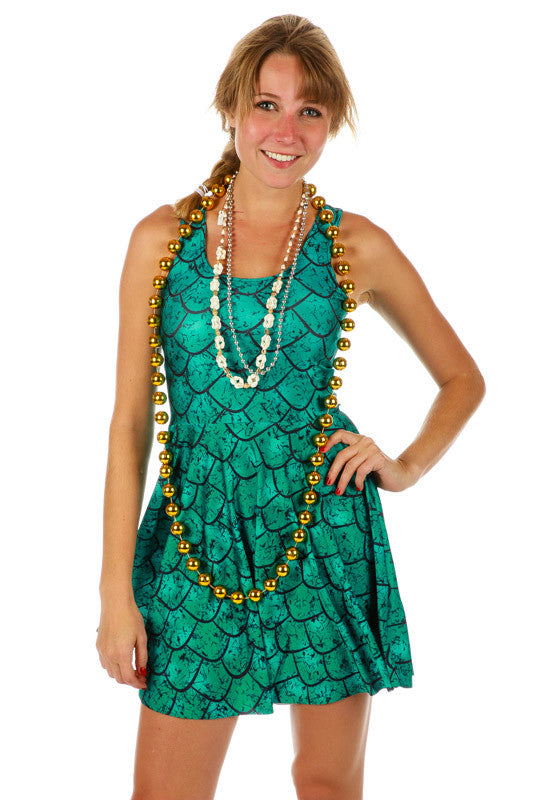 Let's Sea Your Insta Mermaid Halloween Costume Dress