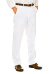 White suit dress pants formal