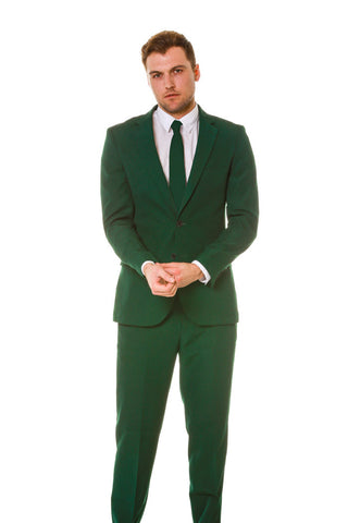 Hunter Green Party Suit