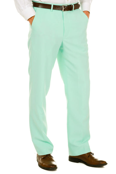 Mens Mint Green Easter Suit Pants