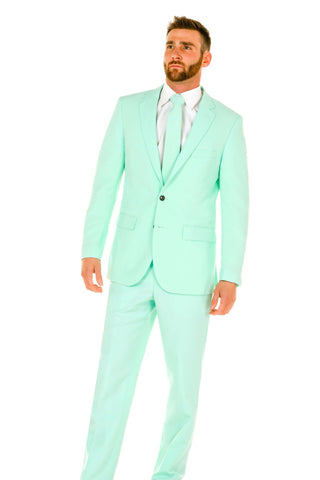 Mens Mint Green Suit