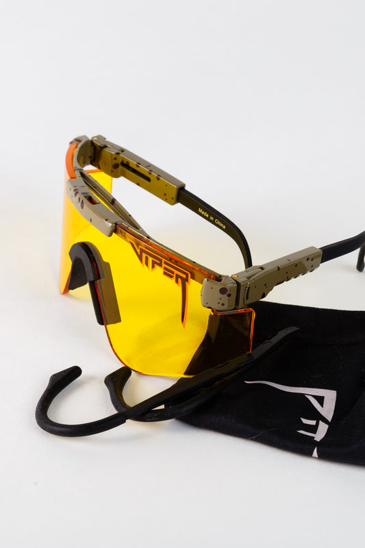 pit viper sunglasses with yellow lens