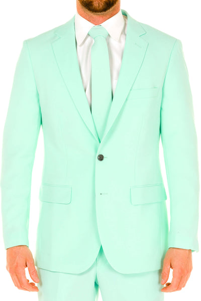 Men's Mint green suit