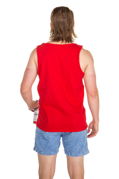 Men's Budweiser tank top