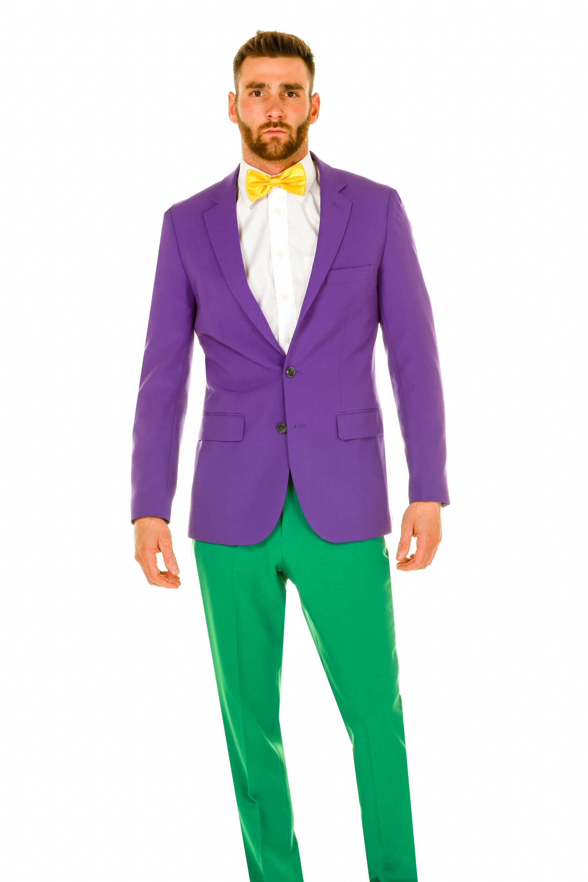 4792273cbd61 Purple, Yellow, and Green Suit   The All of the Colors of Bourbon Street